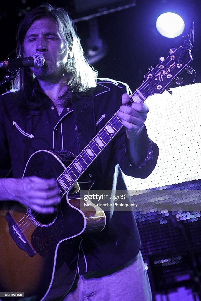 Evan Dando of The Lemonheads performing on February 2, 2012 in Aspen, Colorado.