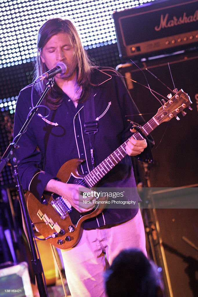 Evan Dando of The Lemonheads performing on February 2 2012 in Aspen Colorado