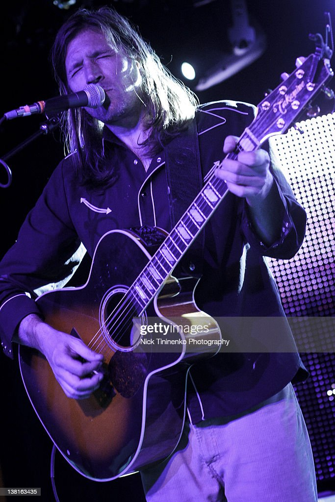 Evan Dando of The Lemonheads performing on February 2, 2012 in Aspen, Colorado.
