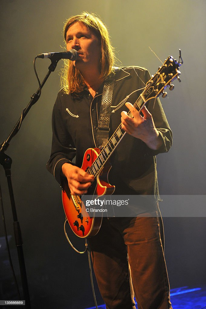 Evan Dando of The Lemonheads performs on stage at Shepherds Bush Empire on December 12 2011 in London United Kingdom