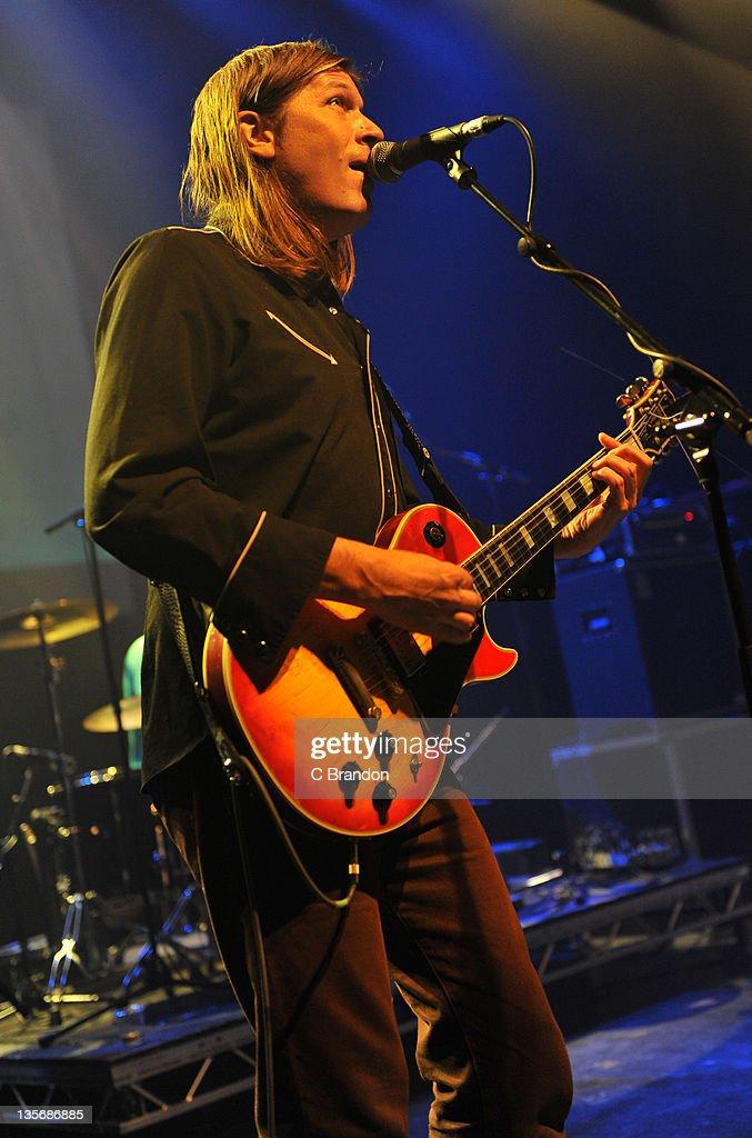 Evan Dando of The Lemonheads performs on stage at Shepherds Bush Empire on December 12, 2011 in London, United Kingdom.