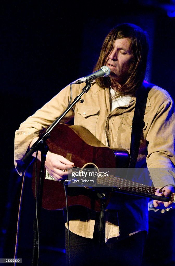 Evan Dando performing at 'Channelling Alex, A Night of Alex Chilton Music', an Alex Chilton tribute, held at the City Winery on July 28 2010 in New York.