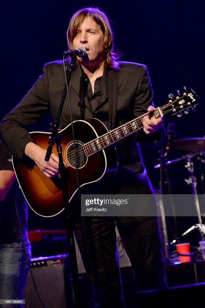 Evan Dando performs at Henry Fonda Theater on May 30, 2013 in Hollywood, California.