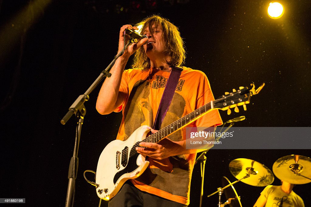 Evan Dando performs with The Lemonheads at Indigo2 at The O2 Arena on October 8 2015 in London England