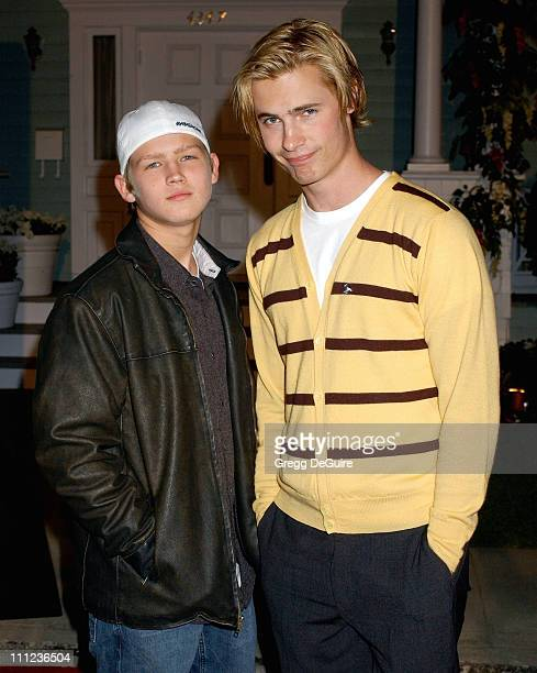 Evan Ellingson and Erik Von Detten during 2005 ABC Winter Press Tour Party Arrivals at Universal Studios in Universal City California United States