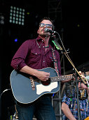 Evan Felker of the Turnpike Troubadours performs during Muskogee G Fest 2016 at Hatbox Field on June 18 2016 in Muskogee Oklahoma