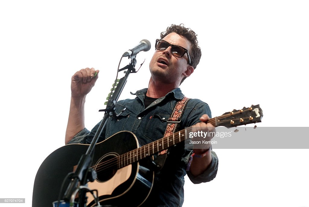 Evan Felker of The Turnpike Troubadours performs onstage during 2016 Stagecoach California's Country Music Festival at Empire Polo Club on May 01, 2016 in Indio, California.