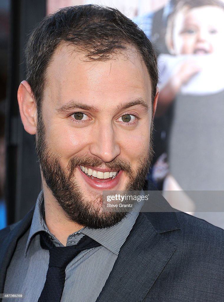 <a gi-track='captionPersonalityLinkClicked' href=/galleries/search?phrase=Evan+Goldberg&family=editorial&specificpeople=4455825 ng-click='$event.stopPropagation()'>Evan Goldberg</a> arrives at the 'Neighbors' - Los Angeles Premiere at Regency Village Theatre on April 28, 2014 in Westwood, California.