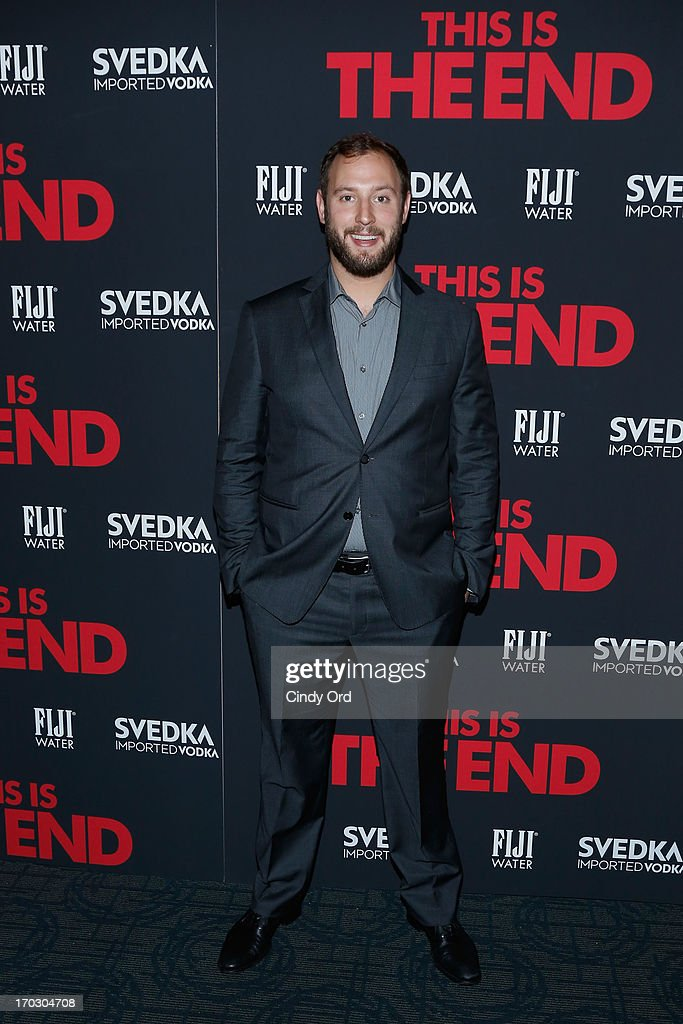 <a gi-track='captionPersonalityLinkClicked' href=/galleries/search?phrase=Evan+Goldberg&family=editorial&specificpeople=4455825 ng-click='$event.stopPropagation()'>Evan Goldberg</a> attends 'This Is The End' New York Premiere at Sunshine Landmark on June 10, 2013 in New York City.