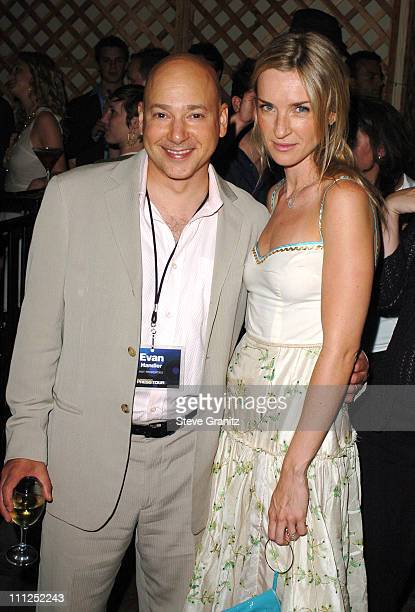 Evan Handler and Ever Carradine during ABC 2005 Summer Press Tour AllStar Party Inside Party at The Abby in West Hollywood California United States