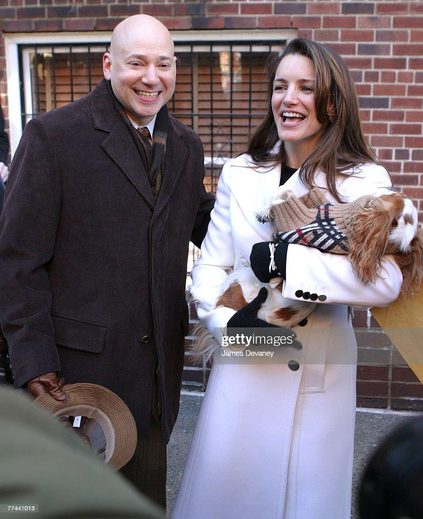 Evan Handler and Kristin Davis
