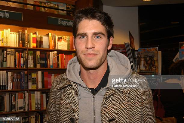 Evan Hart attends Matthew Modine Book Signing for FULL METAL JACKET DIARY at Barnes Noble Book Store on January 4 2006 in New York City