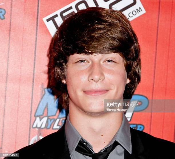 Evan Hofer attends Grammy Award Winning Singer/Songwriter G Tom Mac's 'My Life My Power Fundraiser' at TenTen Wilshire on September 28 2012 in Los...