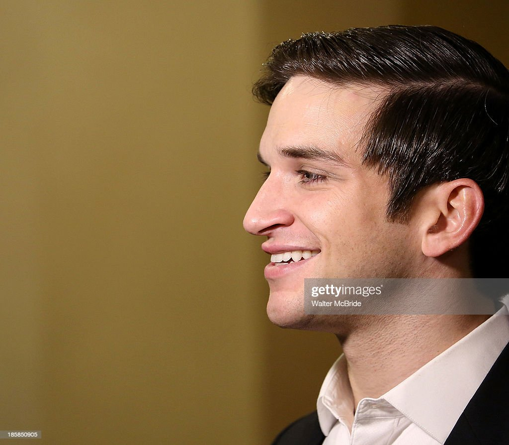 Evan Jonigkeit at the Broadway Opening Night After Party for 'The Snow Geese'' at Copacabana on October 24, 2013 in New York City.