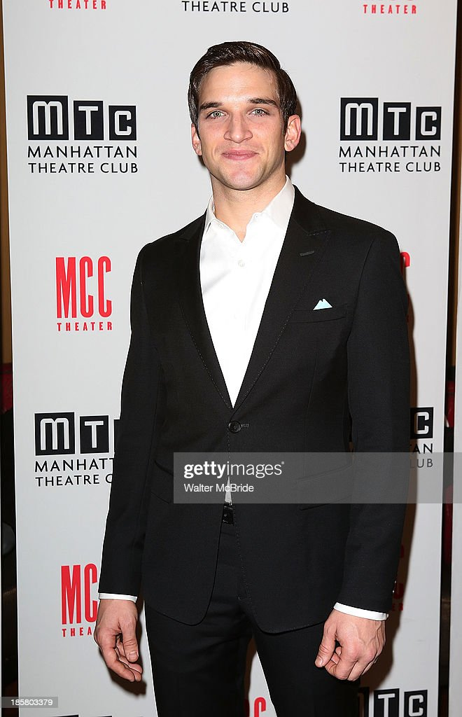 Evan Jonigkeit attends the Broadway Opening Night After Party for 'The Snow Geese'' at Copacabana on October 24, 2013 in New York City.