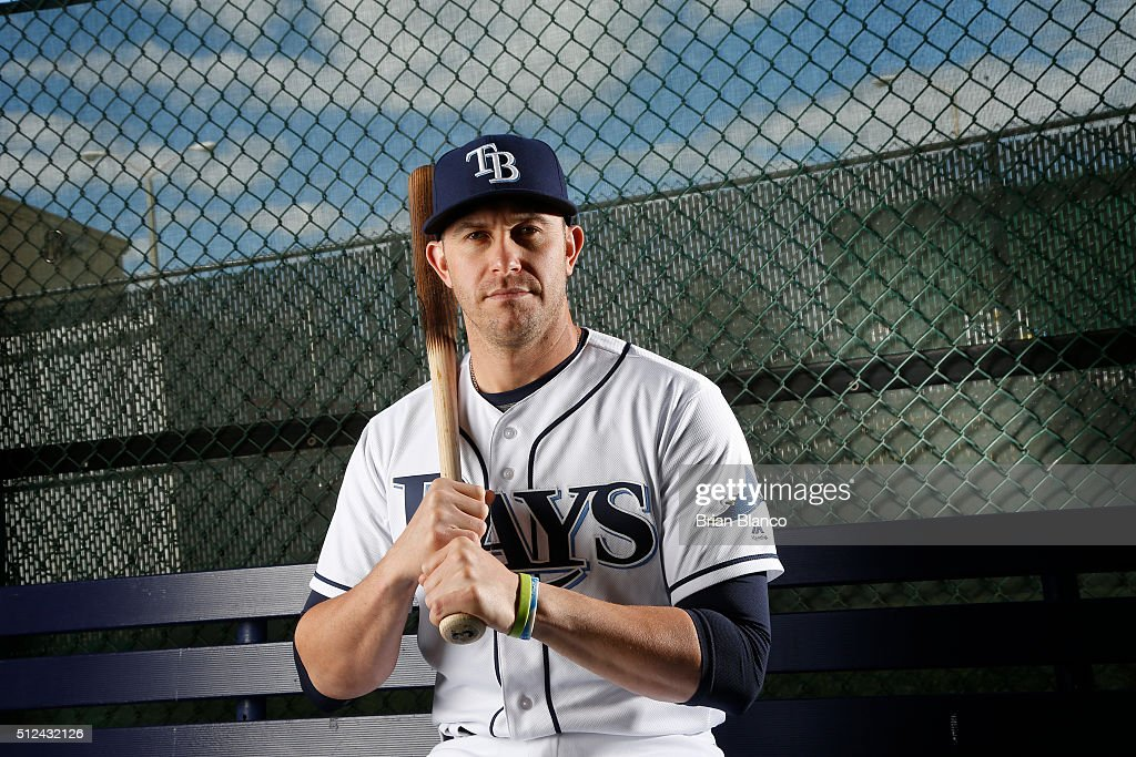 <a gi-track='captionPersonalityLinkClicked' href=/galleries/search?phrase=Evan+Longoria&family=editorial&specificpeople=2349329 ng-click='$event.stopPropagation()'>Evan Longoria</a> #3 of the Tampa Bay Rays poses for a photo during the Rays' photo day on February 25, 2016 at Charlotte Sports Park in Port Charlotte, Florida.