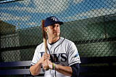 Evan Longoria of the Tampa Bay Rays poses for a photo during the Rays' photo day on February 25 2016 at Charlotte Sports Park in Port Charlotte...
