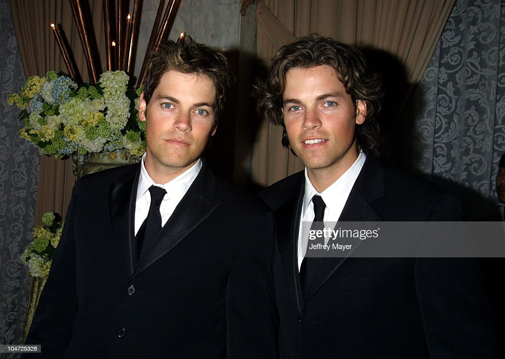 Evan Lowenstein and Jaron Lowenstein during 2002 BMI Pop Awards at Regent Beverly Wilshire in Beverly Hills, California, United States.