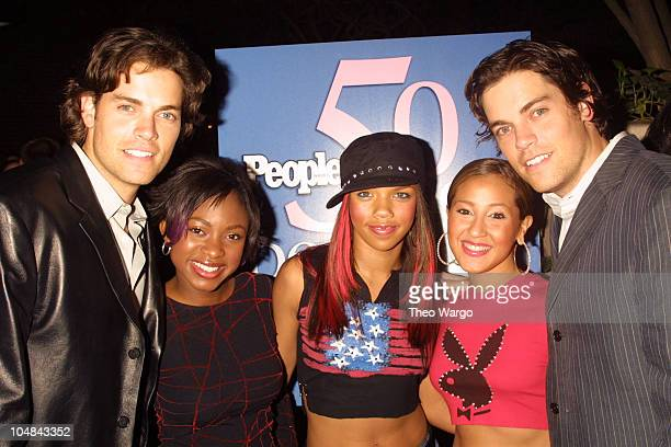 Evan Lowenstein Jaron Lowenstein 3LW during People Magazine's 50 Most Beautiful People in the World Party in New York City New York United States