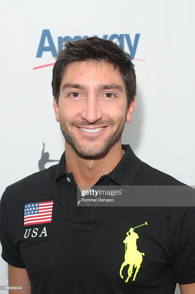 <a gi-track='captionPersonalityLinkClicked' href=/galleries/search?phrase=Evan+Lysacek&family=editorial&specificpeople=243028 ng-click='$event.stopPropagation()'>Evan Lysacek</a> attends The 2013 Skating With The Stars Benefit Gala at Trump Rink at Central Park on April 8, 2013 in New York City.
