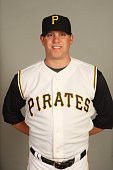 Evan Meek of the Pittsburgh Pirates poses for a portrait during photo day at McKechnie Field on February 24 2008 in Bradenton Florida