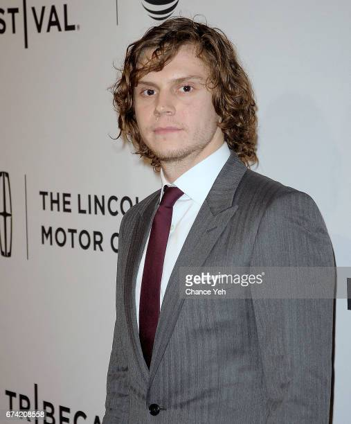 Evan Peters attends 'Dabka' 'Warning This Drug May Kill You' screening during Tribeca Film Festival at SVA Theatre on April 27 2017 in New York City