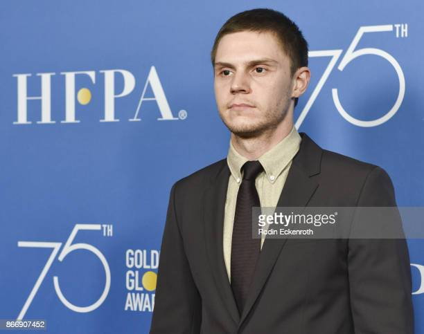 Evan Peters attends the Hollywood Foreign Press Association Hosts Television Game Changers Panel Discussion at The Paley Center for Media on October...