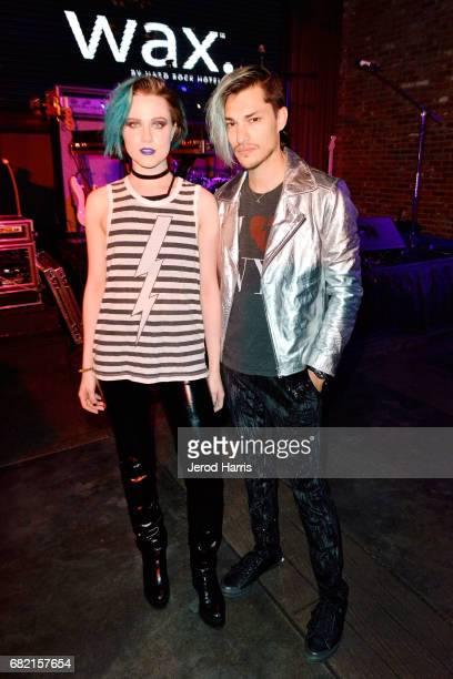 Evan Rachel Wood and Zach Villa perform at the Hard Rock Hotel San Diego on May 11 2017 in San Diego California