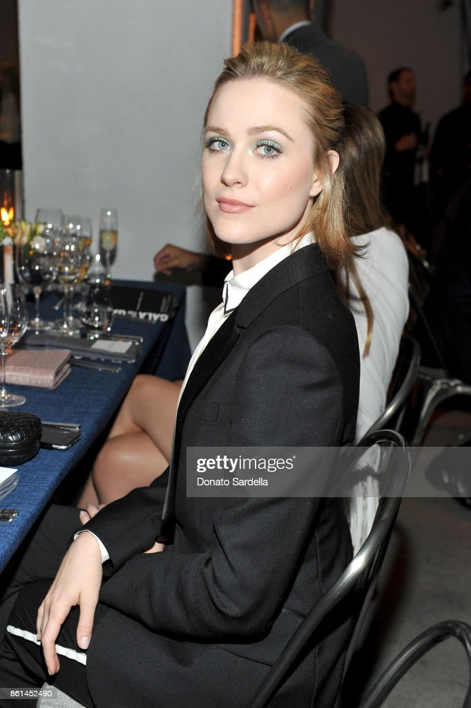Evan Rachel Wood at the Hammer Museum 15th Annual Gala in the Garden with Generous Support from Bottega Veneta on October 14, 2017 in Los Angeles, California.