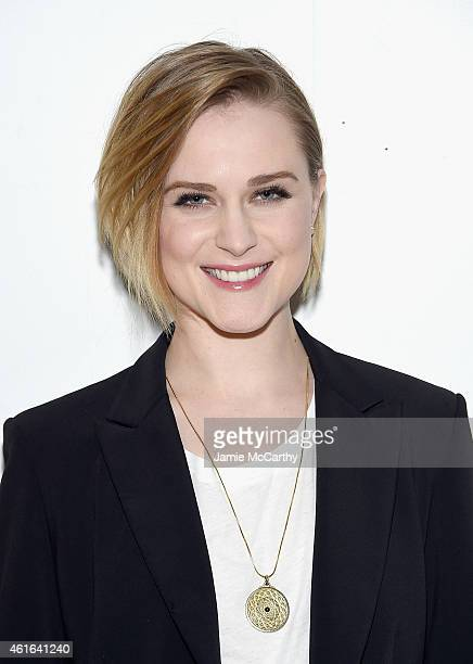 Evan Rachel Wood attends AOL's BUILD Speaker Series at AOL Studios In New York on January 16 2015 in New York City