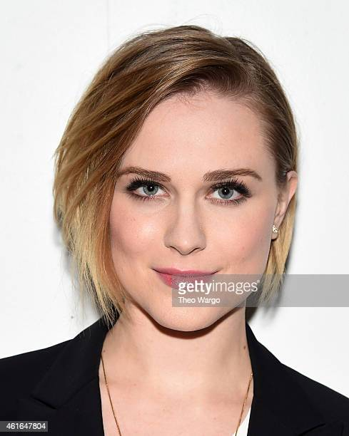 Evan Rachel Wood attends AOL's BUILD Speaker Series Evan Rachel Wood at AOL Studios In New York on January 16 2015 in New York City