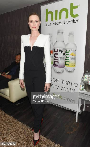 Evan Rachel Wood attends Comic Con TVLine Media Lounge Sponsored By Hint July 22 2017 in San Diego California