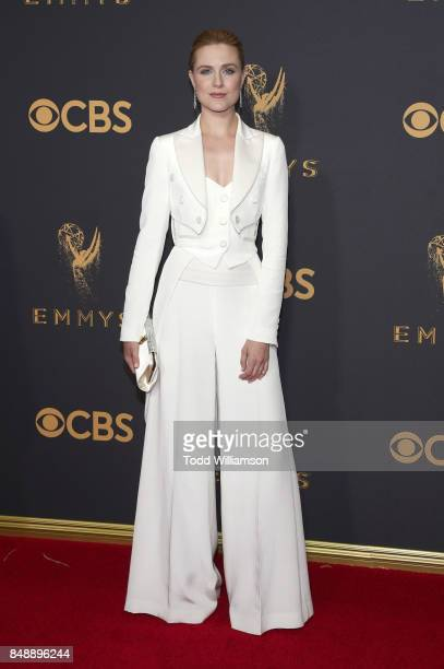 Evan Rachel Wood attends the 69th Annual Primetime Emmy Awards at Microsoft Theater on September 17 2017 in Los Angeles California