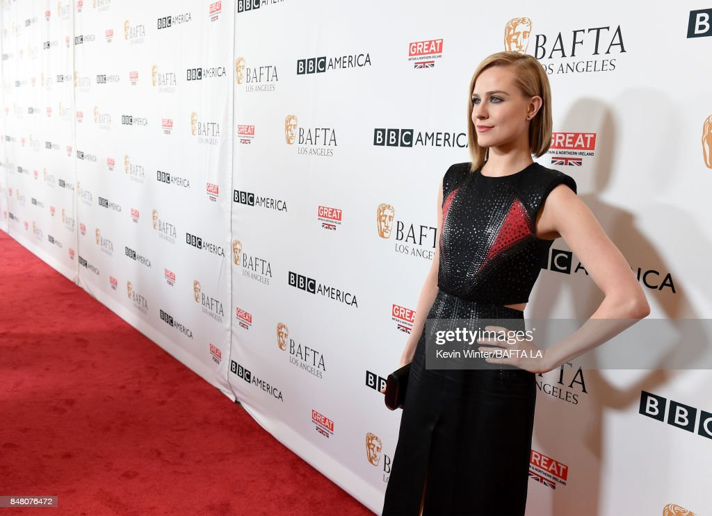 Evan Rachel Wood attends the BBC America BAFTA Los Angeles TV Tea Party 2017 at The Beverly Hilton Hotel on September 16, 2017 in Beverly Hills, California.