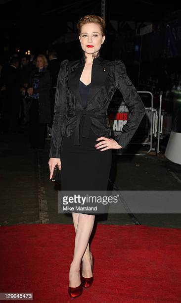Evan Rachel Wood attends the gala screening of The Ides Of March at The 55th BFI London Film Festival at Odeon West End on October 19 2011 in London...