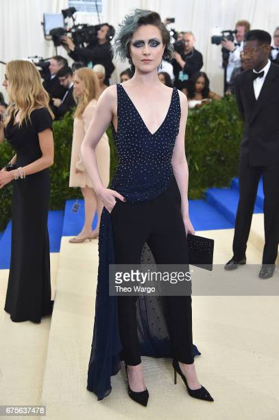 Evan Rachel Wood attends the 'Rei Kawakubo/Comme des Garcons Art Of The InBetween' Costume Institute Gala at Metropolitan Museum of Art on May 1 2017...
