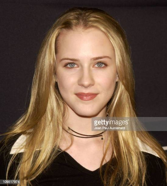 Evan Rachel Wood during Teen People and Universal Records Honor Nelly as the 2002 Artist of the Year Arrivals at Ivar in Hollywood California United...