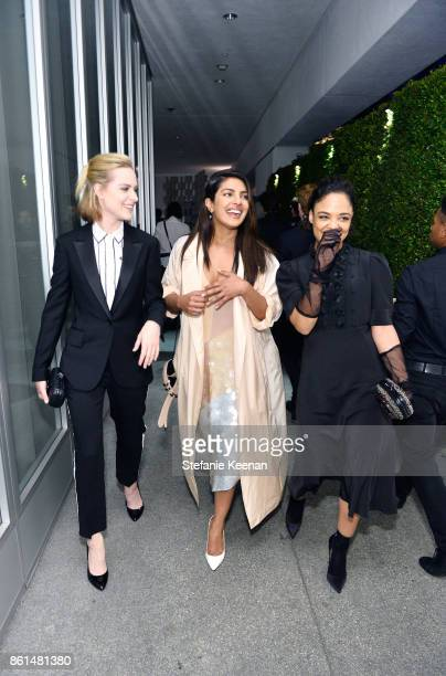 Evan Rachel Wood Priyanka Chopra and Tessa Thompson at the Hammer Museum 15th Annual Gala in the Garden with Generous Support from Bottega Veneta on...