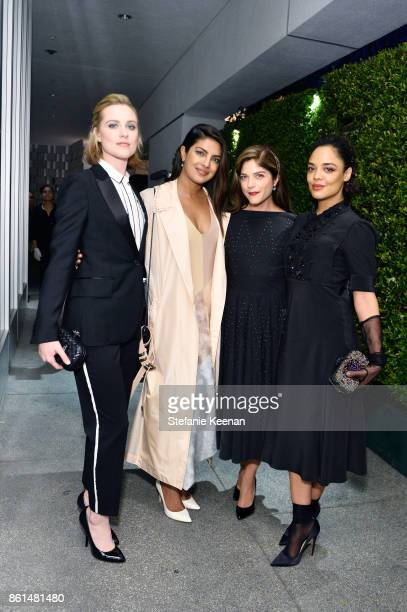 Evan Rachel Wood Priyanka Chopra Selma Blair and Tessa Thompson at the Hammer Museum 15th Annual Gala in the Garden with Generous Support from...