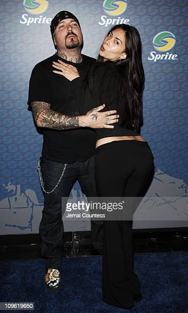 Evan Seinfeld and Tera Patrick during Sprite Street Couture Showcase Arrivals and Afterparty at Guastavino's in New York City New York United States