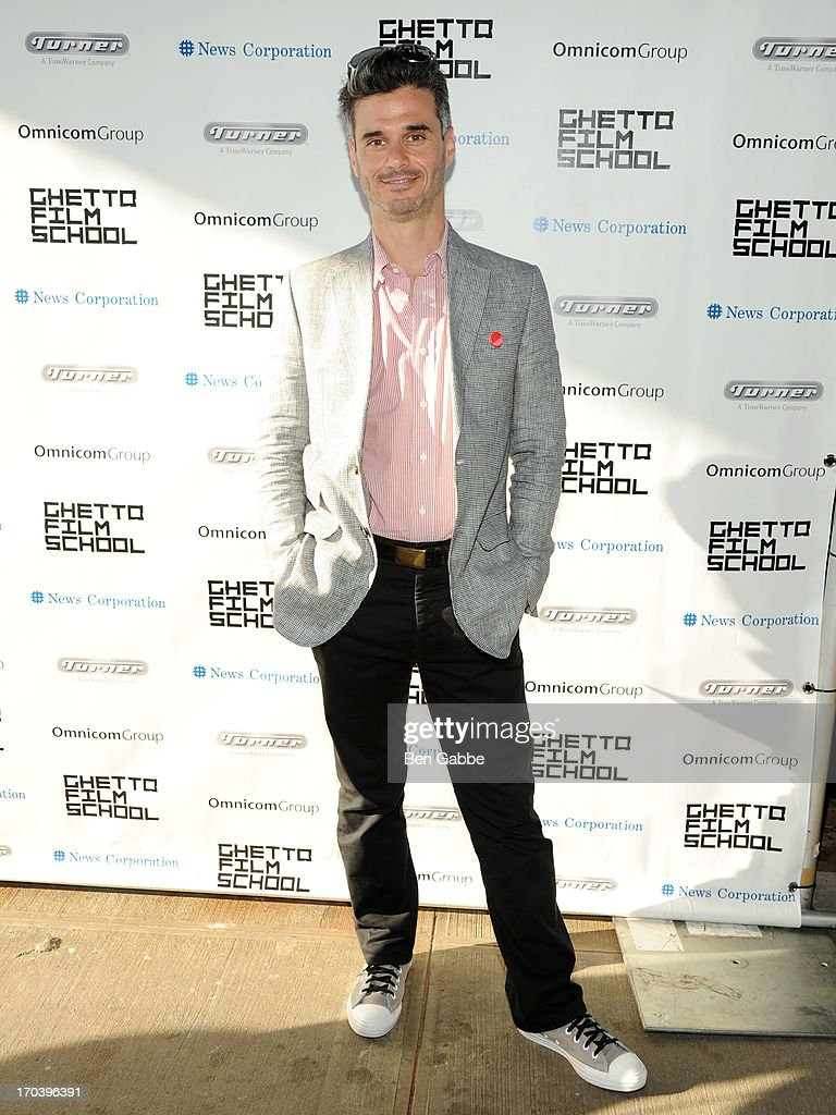 Evan Shapiro attends Ghetto Film School 9th Annual Spring Benefit at The Standard Biergarten on June 12, 2013 in New York City.