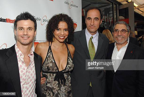 Evan Shapiro EVP and General Manager of the Independent Film Channel Gloria Reuben Joshua Sapan President and Chief Executive Officer of Rainbow...
