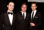 Evan Williams Biz Stone and Jack Dorsey of Twitter attend Time's 100 Most Influential People in the World Gala at the Frederick P Rose Hall at Jazz...