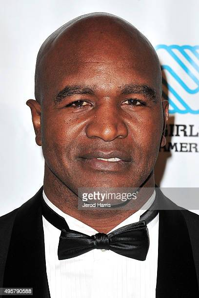 Evander Holyfield arrives at the Boys and Girls Clubs of America's Annual Great Futures Gala at The Beverly Hilton Hotel on November 4 2015 in...