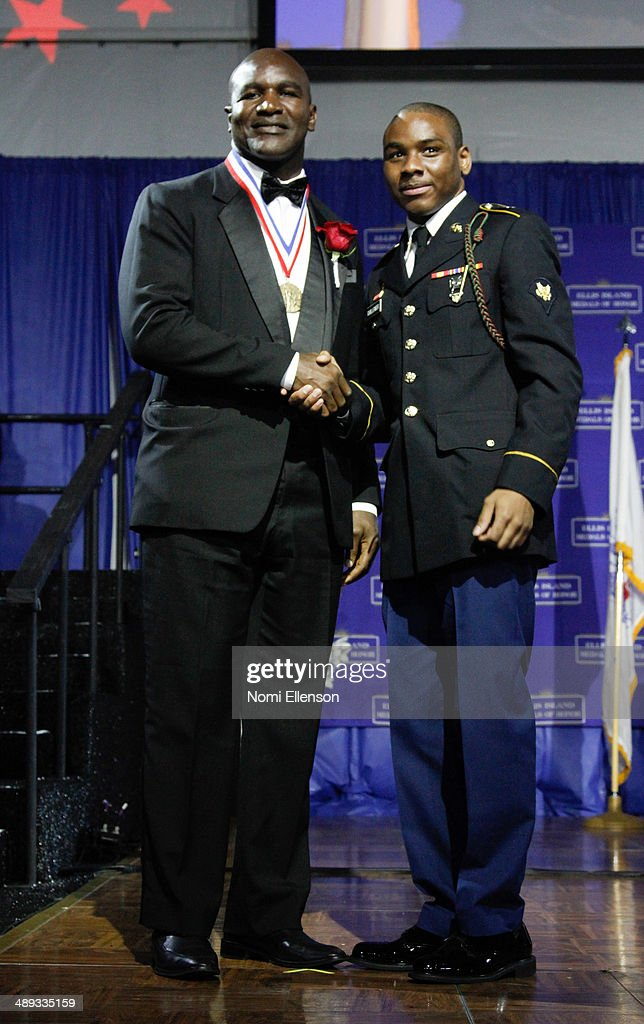 Evander Holyfield attends the 2014 Ellis Island Medals Of Honor at Ellis Island on May 10, 2014 in New York City.