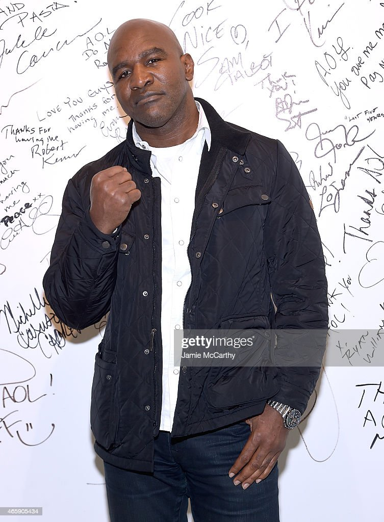 "AOL BUILD Speaker Series: Evander Holyfield And Brent Marcus Discuss Their Documentary ""Champs"""