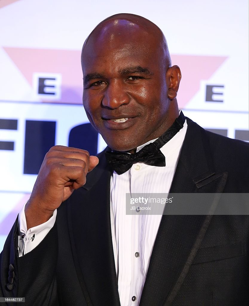 <a gi-track='captionPersonalityLinkClicked' href=/galleries/search?phrase=Evander+Holyfield&family=editorial&specificpeople=194938 ng-click='$event.stopPropagation()'>Evander Holyfield</a> attends the Muhammad Ali's Celebrity Fight Night XIX held at JW Marriott Desert Ridge Resort & Spa on March 23, 2013 in Phoenix, Arizona.