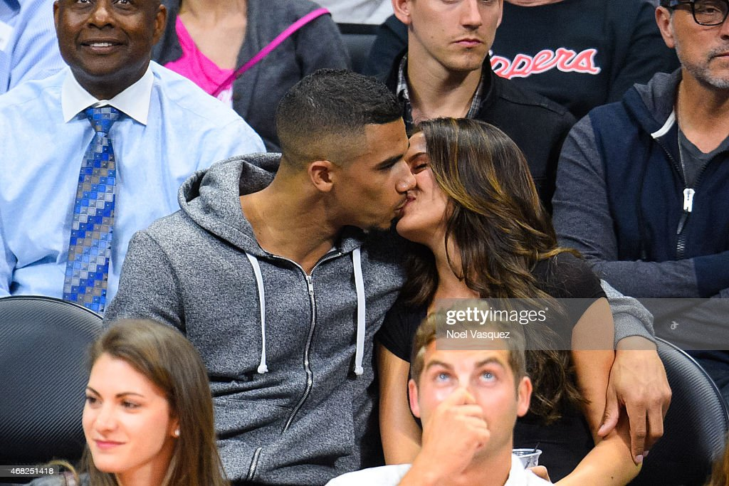 Celebrities At The Los Angeles Clippers Game   Getty Images