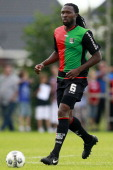 Evander Sno of NEC during the Friendly match between SC Woezik and NEC Nijmegen at Sportpark Woezik on July 7 2012 in Wijchen The Netherlands
