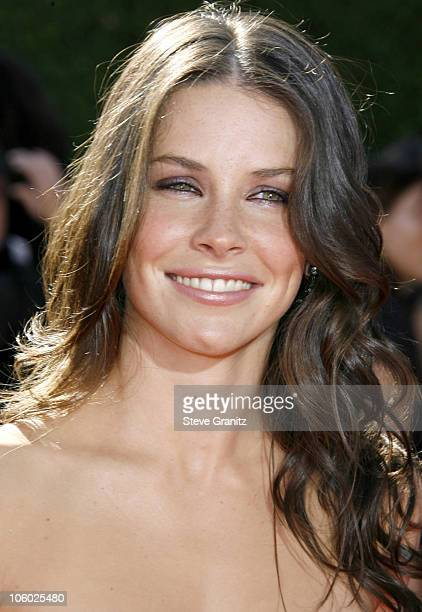 Evangeline Lilly during 58th Annual Primetime Emmy Awards Arrivals at Shrine Auditorium in Los Angeles California United States